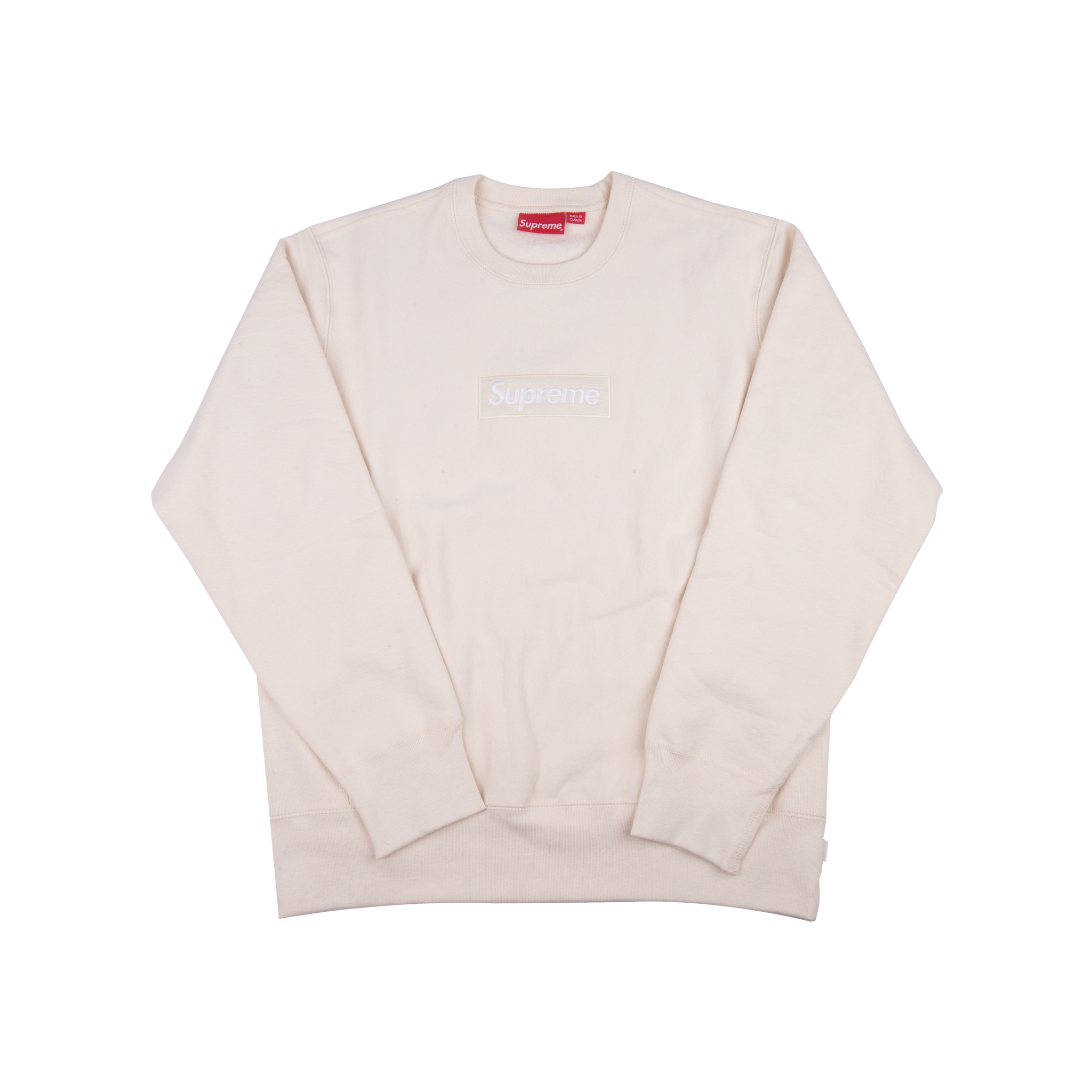 Supreme Natural Box Logo Crew
