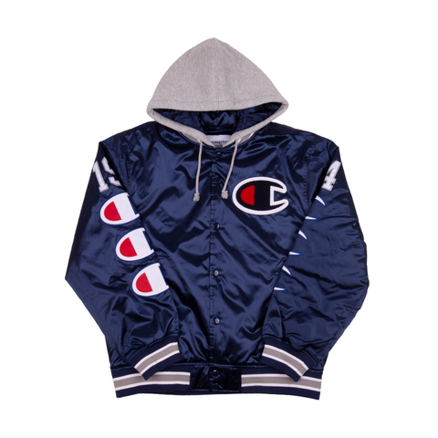 Supreme Champion Navy Hooded Jacket