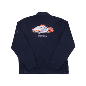 Supreme Navy Cop Car Jacket