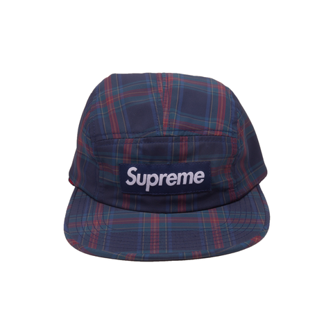 Supreme Navy Fleece Line Ear Flap Camp Cap