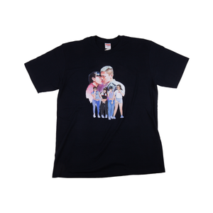 Supreme Navy Kiss Tee