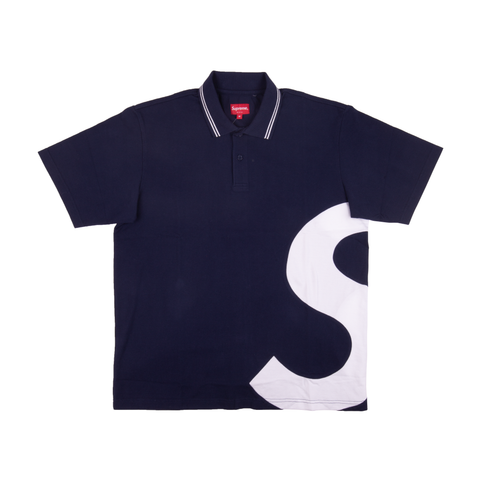 Supreme Navy S Logo Polo