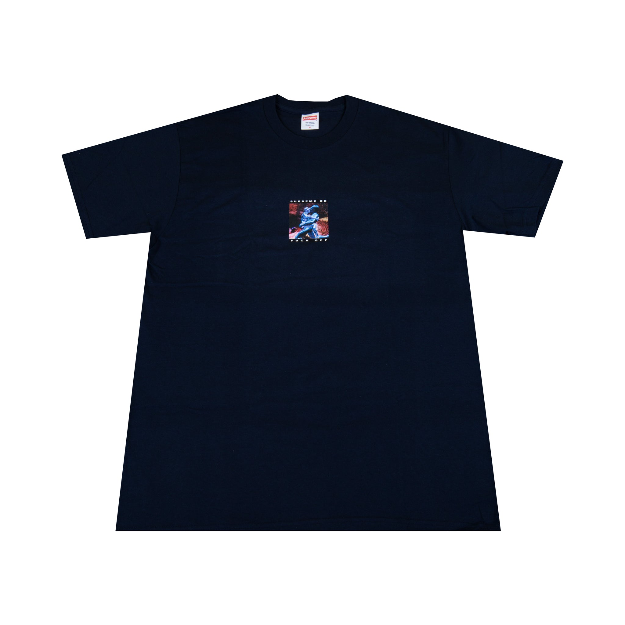 Supreme Navy Cyber Tee