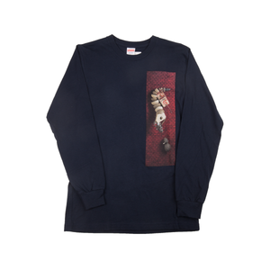 Supreme Navy Mike Hill Snaketrap L/S