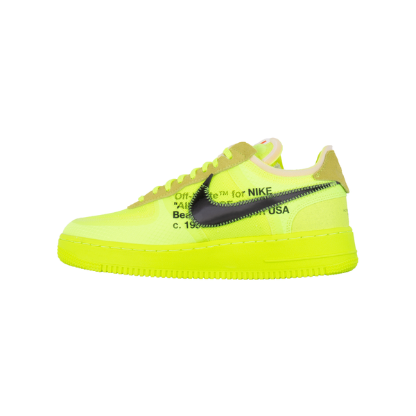 Nike Volt Off White Air Force 1