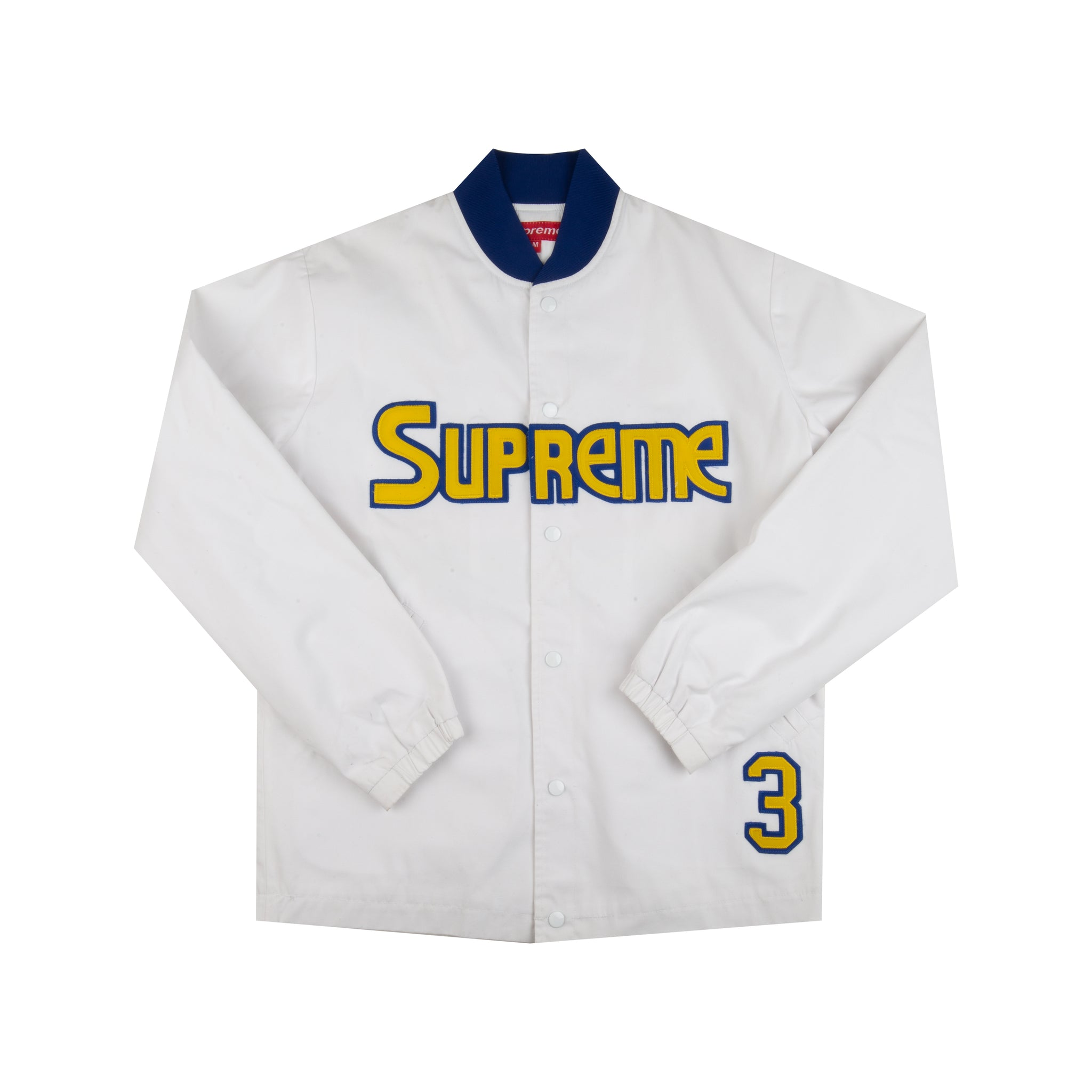 Supreme White Nuggets Jacket