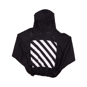 Off-White Black Windbreaker