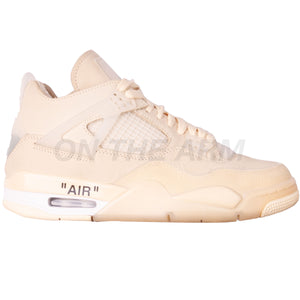 Nike Sail Off-White Air Jordan 4 USED