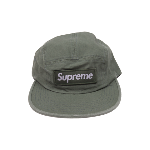 Supreme Olive Military Camp Cap
