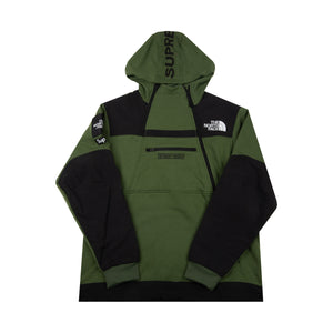 72b5de71902 Supreme Olive TNF Steep Tech Hoodie – On The Arm