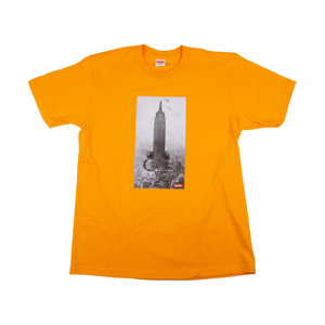 Supreme Mike Kelley Bright Orange Empire Tee
