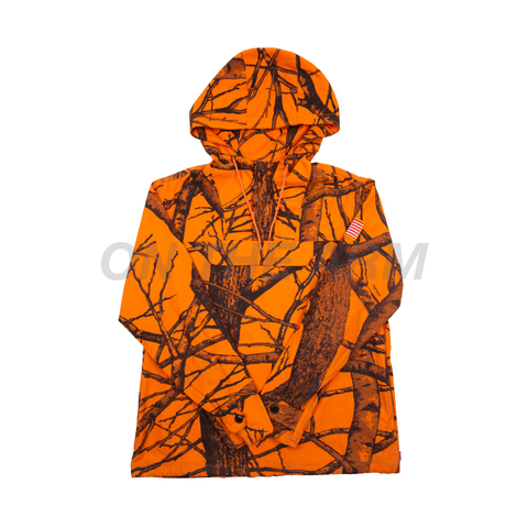 Supreme Orange Field Pullover