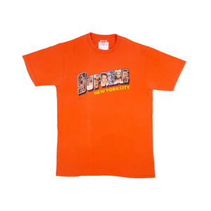 Supreme Orange Postcard Tee
