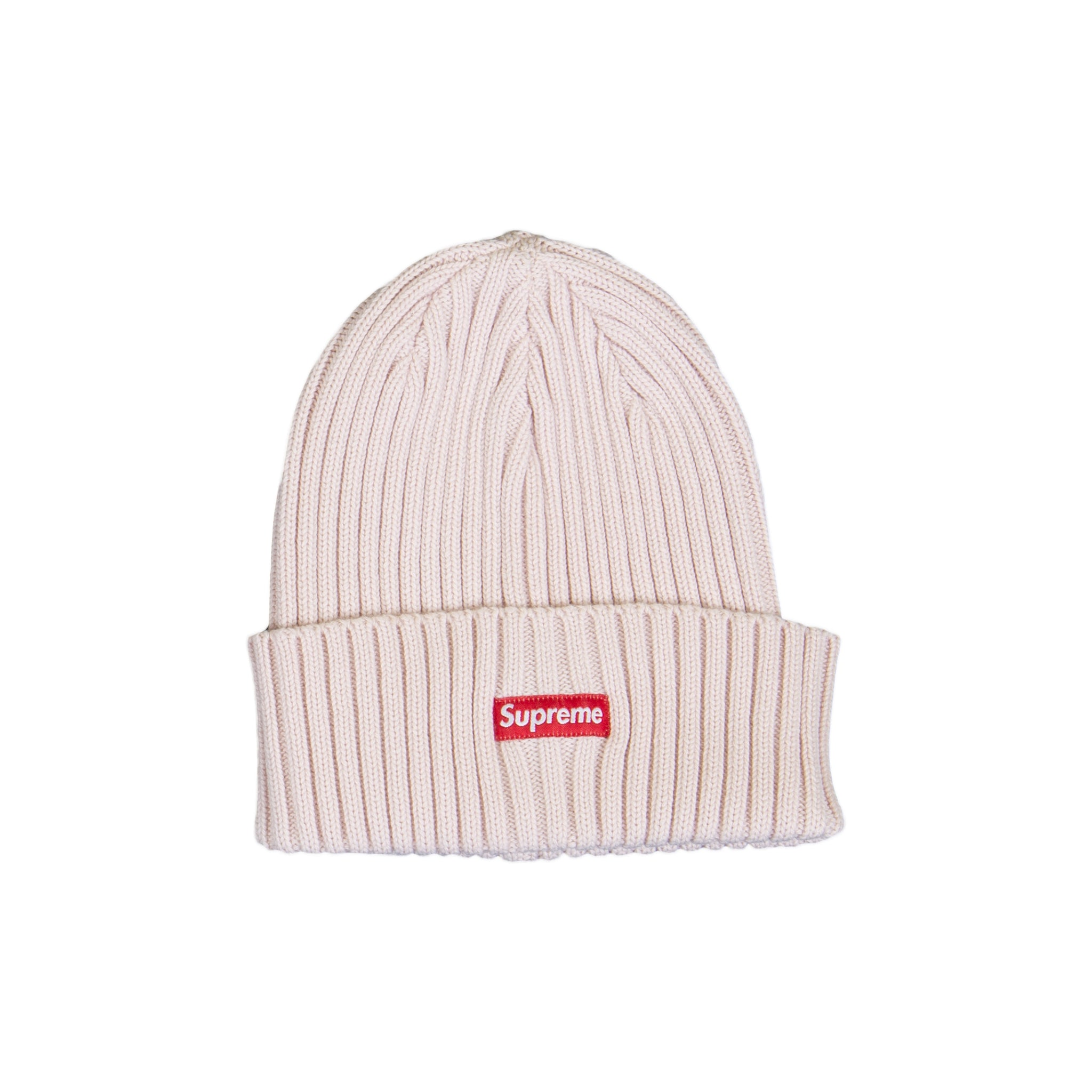 Supreme Pink Overdyed Ribbed Beanie