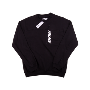 Palace Black Garage Crewneck