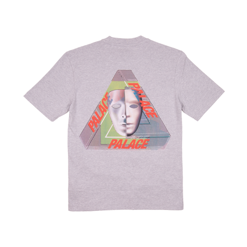 Palace Grey Marl Tri Bury Tee