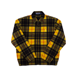Palace Yellow Polo Fleece Harrington Jacket