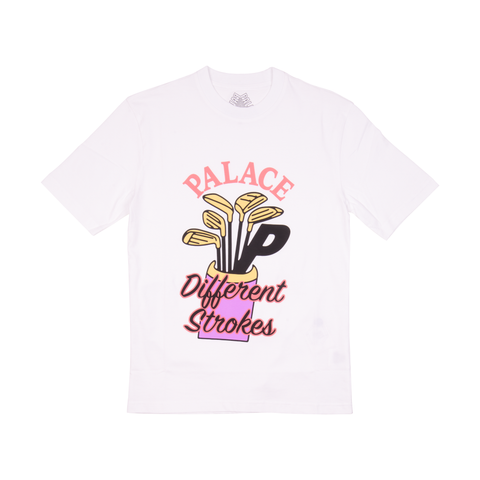 Palace White Different Strokes Tee