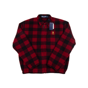 Palace Red Ralph Lauren Fleece