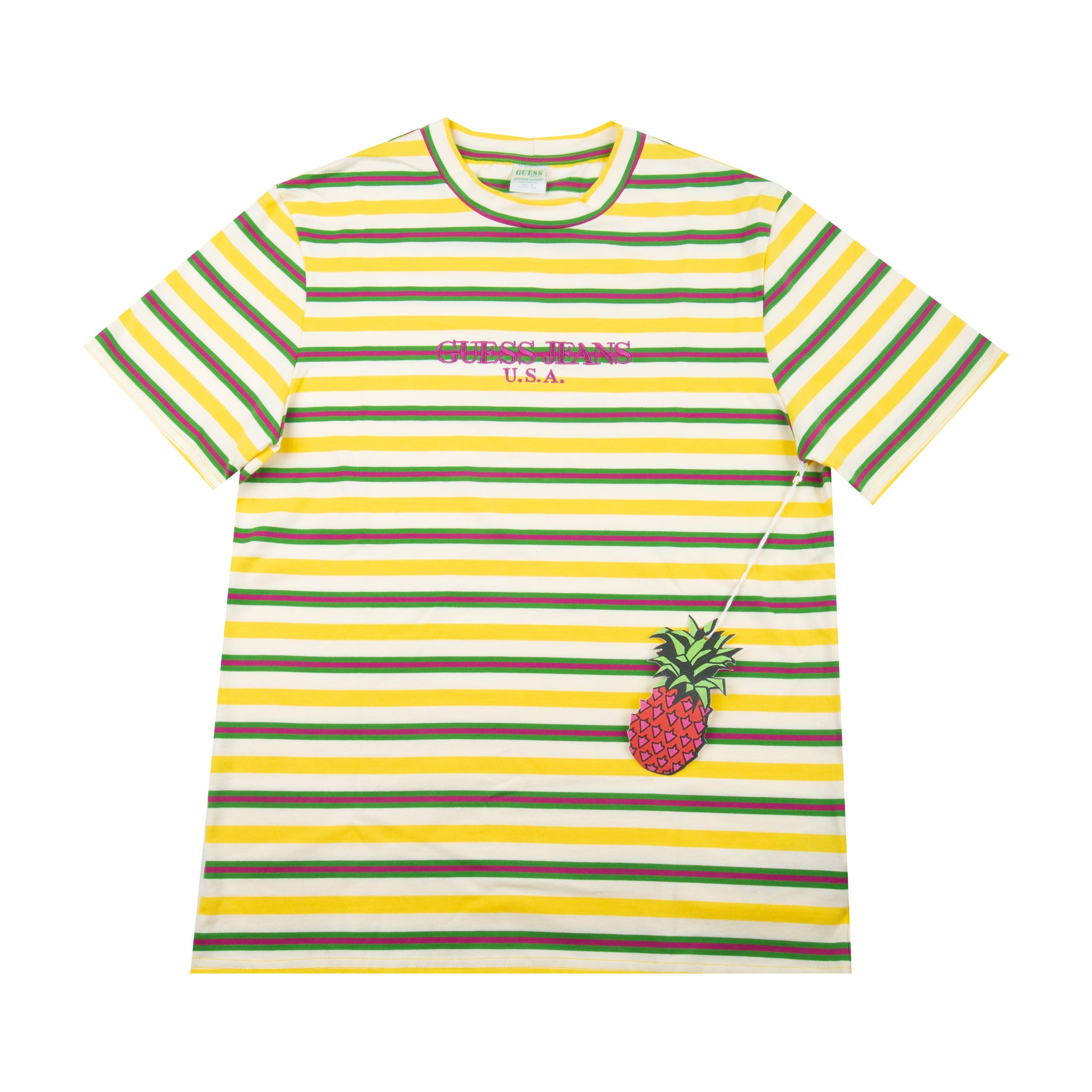 Guess Jeans Pineapple Striped Tee