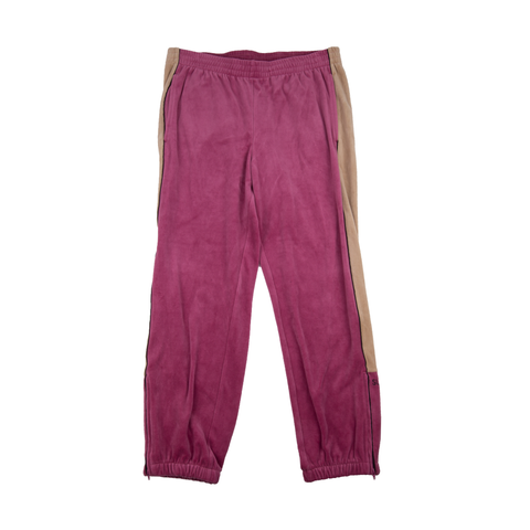 Supreme Pink Velour Track Pants