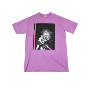Supreme Purple Horror Tee