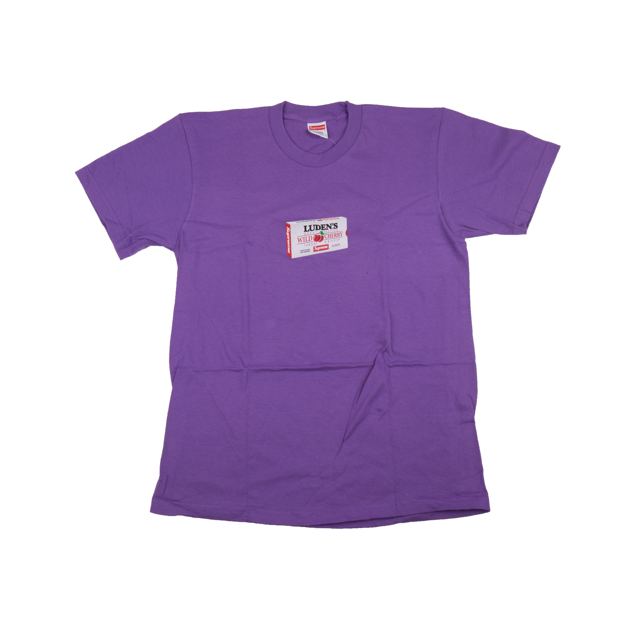 Supreme Purple Ludens Tee