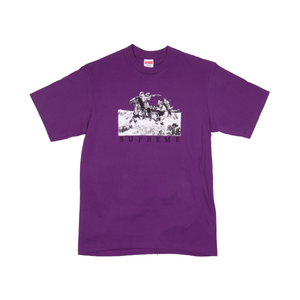 Supreme Purple Riders Tee