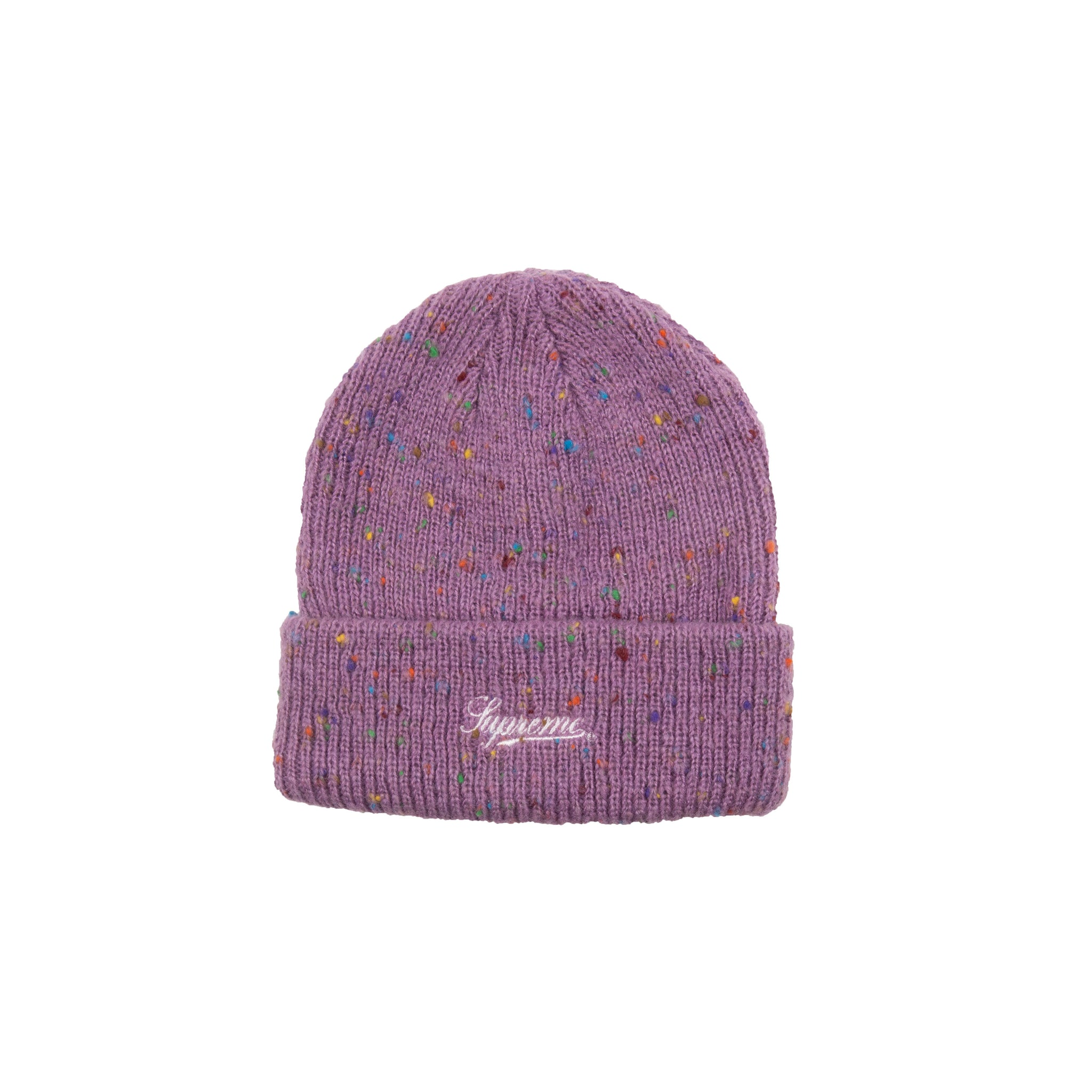 Supreme Purple Speckle Beanie