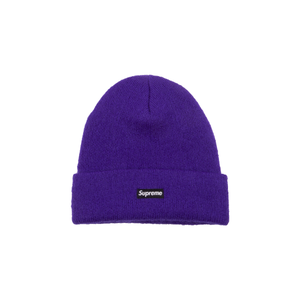 Supreme Purple Mohair Beanie