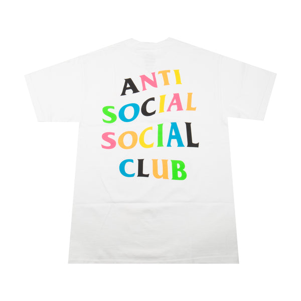 Anti Social Social Club Rainbow Tee