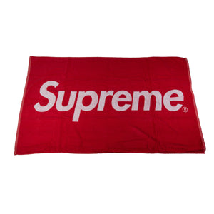 Supreme Red Beach Towel