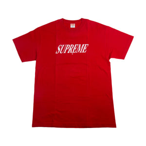 Supreme Red Bitch Please Tee
