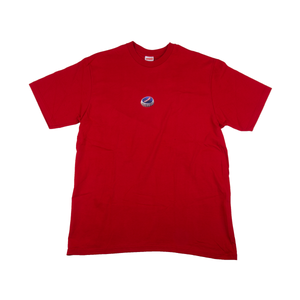 Supreme Red Bottle Cap Tee