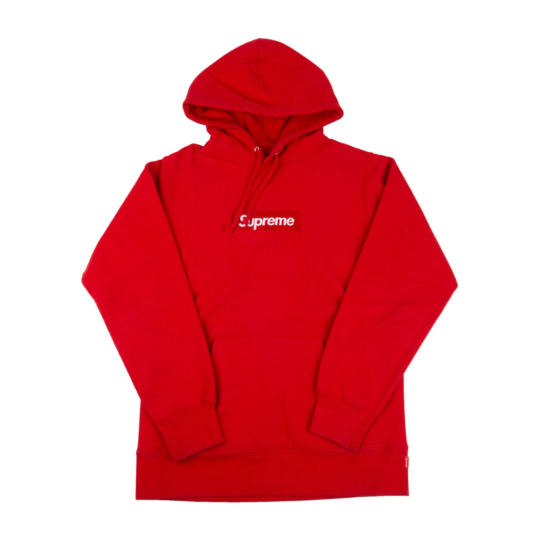 good looking super cheap shop for official Supreme Red Box Logo Hoodie