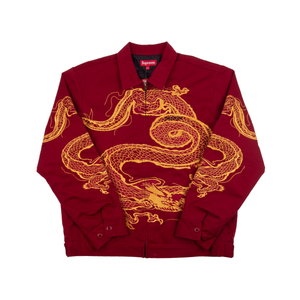 Supreme Red Dragon Work Jacket