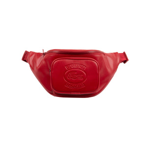 Supreme Red Lacoste Waist Bag