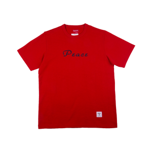 Supreme Red Peace Tee
