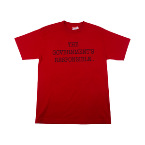 Supreme Red Public Enemy Tee