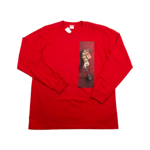 Supreme Red Mike Hill Snaketrap L/S