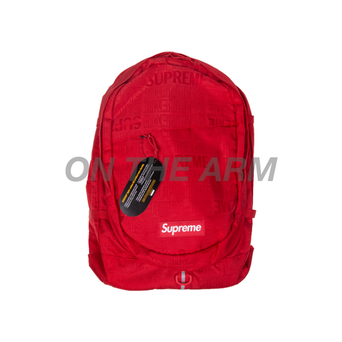 Supreme Red SS19 Backpack