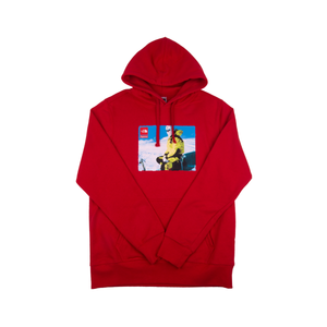 Supreme Red TNF Photo Hoodie