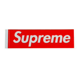 Supreme Red 3M Box Logo Sticker
