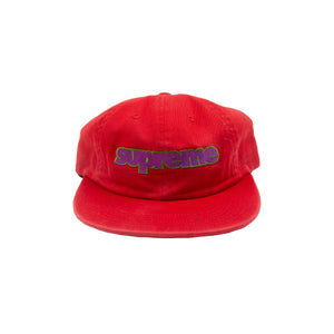 Supreme Red Connect Logo Hat