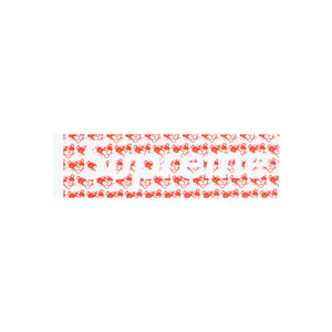 Supreme Red Pink Panther Box Logo Sticker