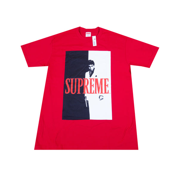 Supreme Red Scarface Split Tee