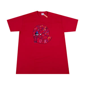 Supreme Red Joe Roberts Swirl Tee