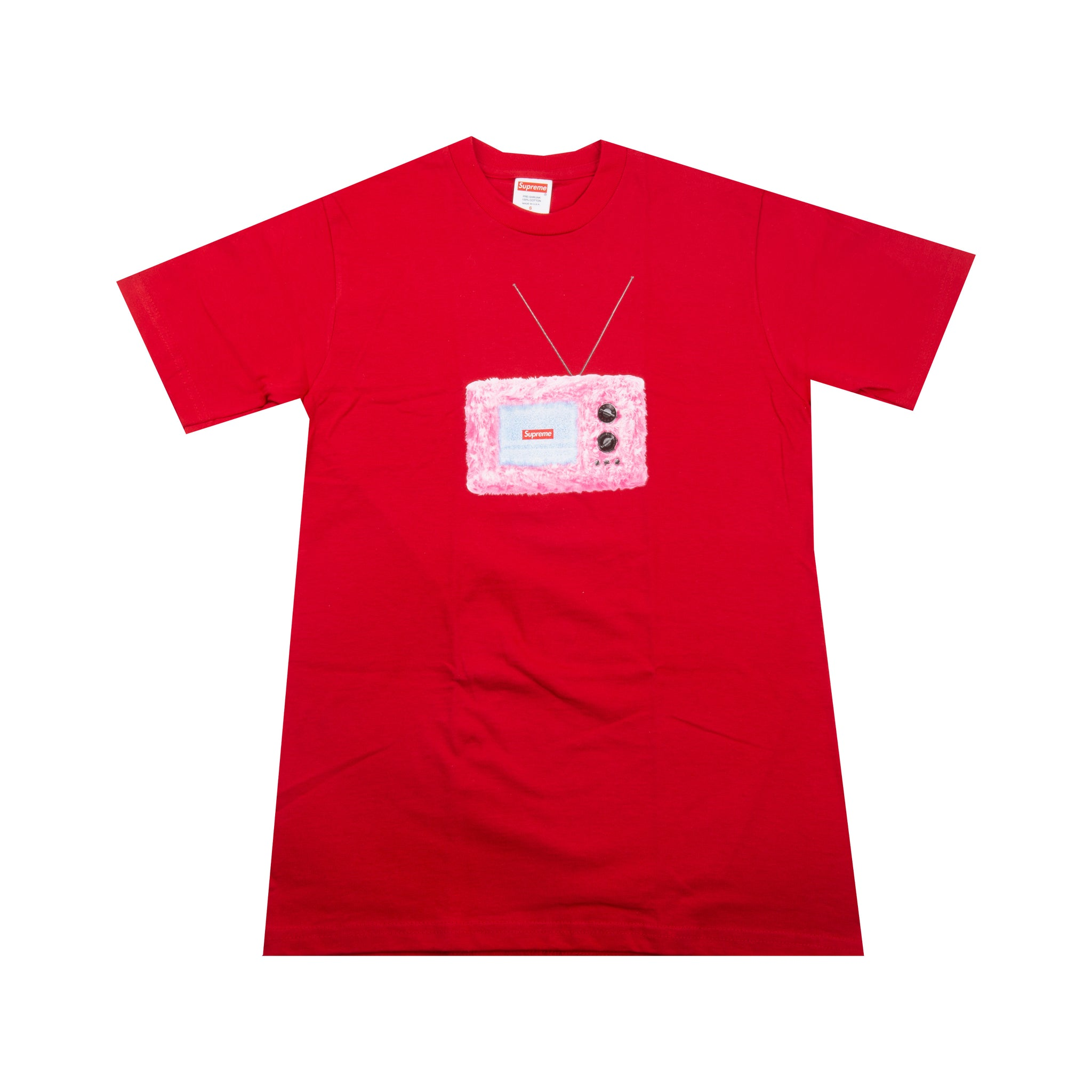Supreme Red TV Tee