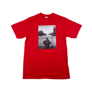 Supreme  Red PE Undercover Whitehouse Tee