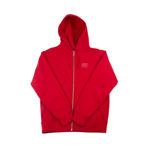 Supreme Red World Famous Zip Up